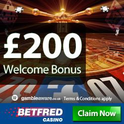 Betfred Casino Bonus Codes & Free Spins Voucher Codes with / no Deposit